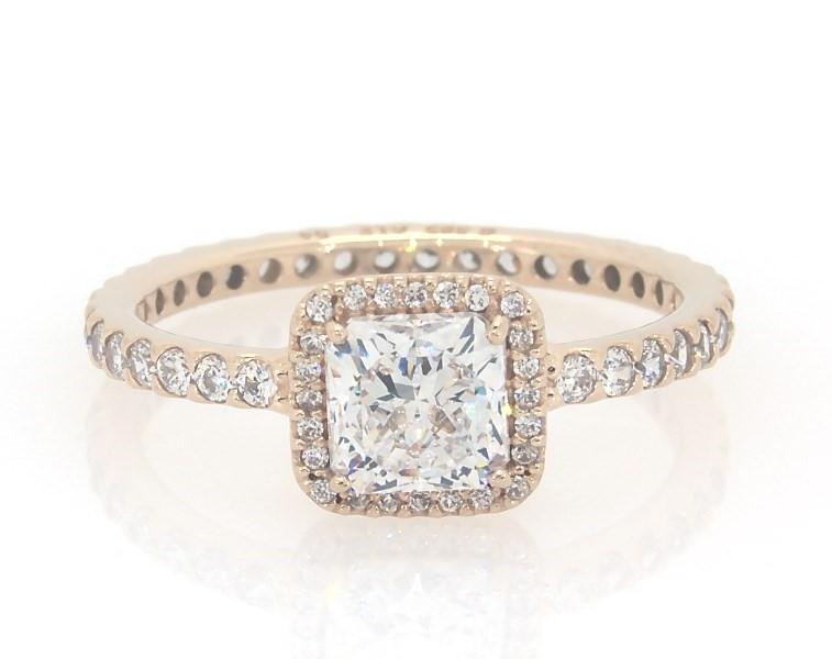 Pandora Ring Timeless Elegance 14k Yellow Gold Pandora Jewelry