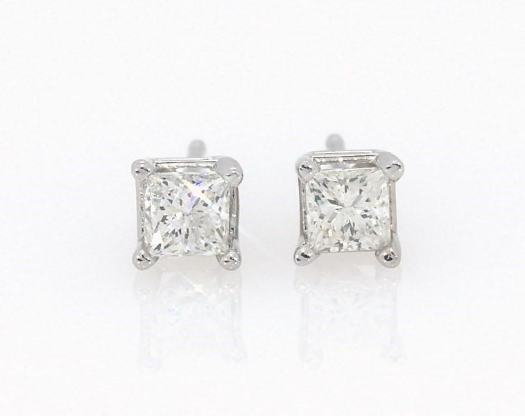 0e2faf764 Segoma 3D Image Player v5.1.21. Goto Segoma.com. Close. Large View. Diamond  Earrings 1/2 ct tw Princess-cut 14K White Gold ...