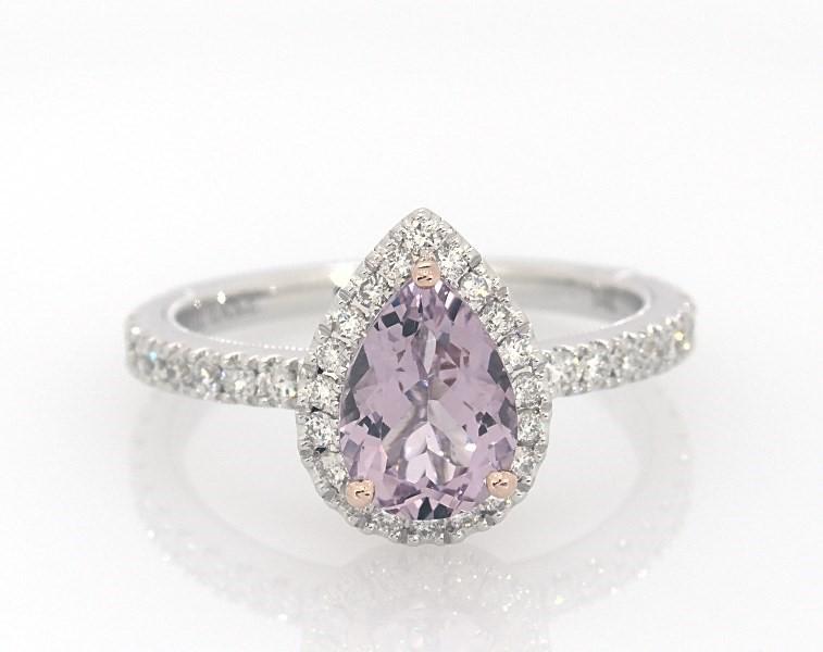 1c3a1b73b Neil Lane Quartz Engagement Ring 1/2 ct tw Diamonds 14K Gold ...