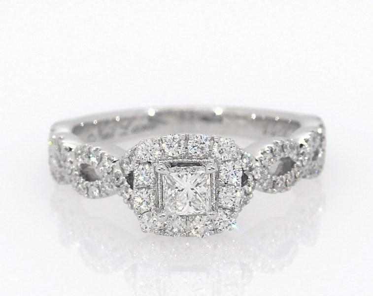 4dc92d62d Segoma Image. Segoma 3D Image Player v5.1.21. Goto Segoma.com. Close. Large  View. Neil Lane Engagement Ring 5/8 ct tw Princess-cut 14K White Gold -