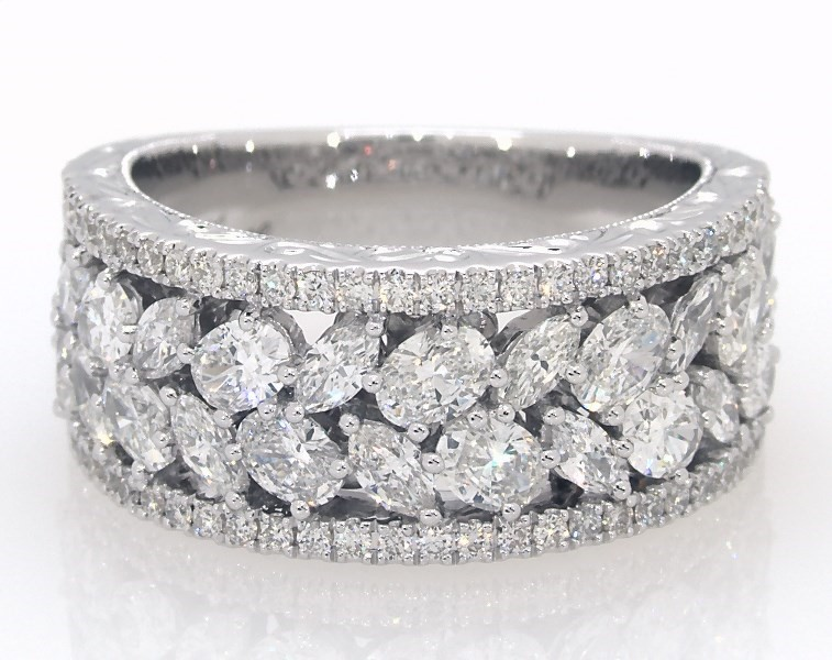 Neil Lane Anniversary Band 2 ct tw Diamonds 14K White Gold