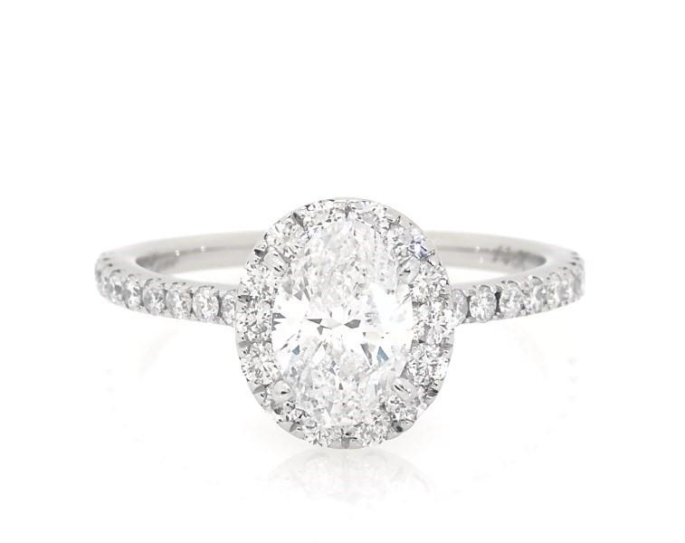 Neil Lane Engagement Ring 1 1 2 Ct Wt Diamonds 14k White Gold Halo Engagement And Wedding Jared