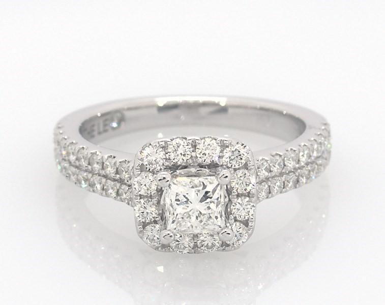 51b0141b8 Leo Diamond Engagement Ring 1 Carat tw 14K White Gold - 991982808 - Kay