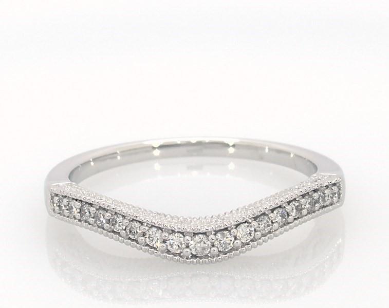 6f3fd9b81 Diamond Enhancer Ring 1/6 ct tw Round-cut 14K White Gold - 531660900 ...