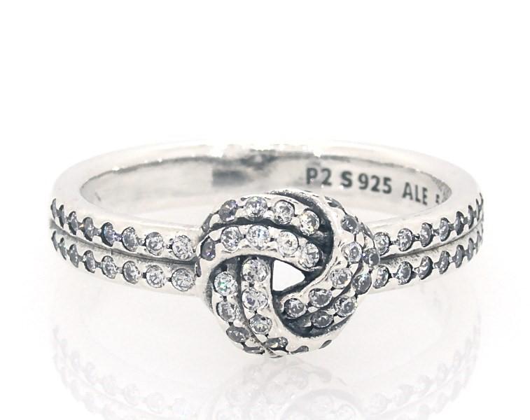 Pandora Ring Sparkling Love Knot