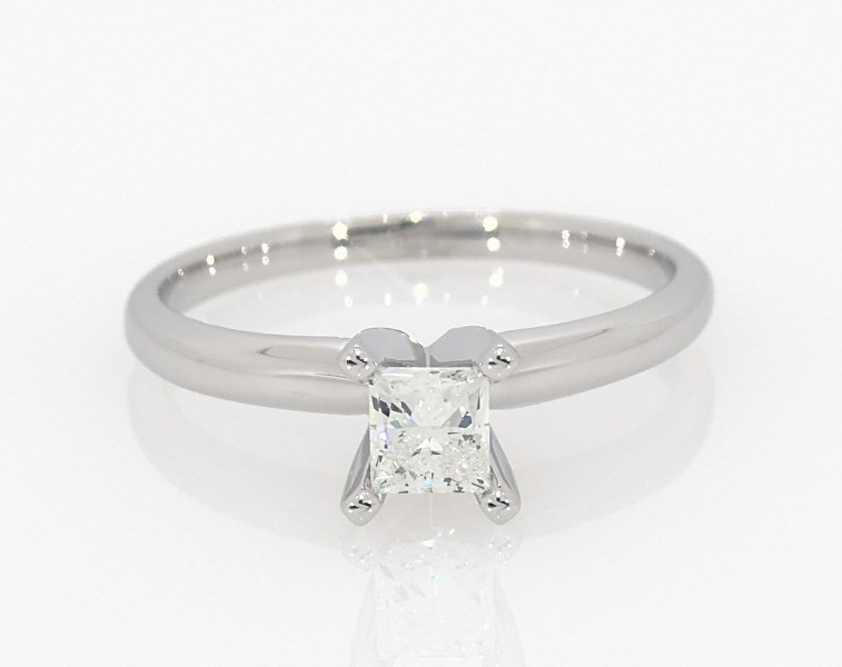 462fff0e9 Segoma Image. Segoma 3D Image Player v5.1.21. Goto Segoma.com. Close. Large  View. Diamond Solitaire Ring 1/2 Carat Princess-Cut 14K White Gold ...
