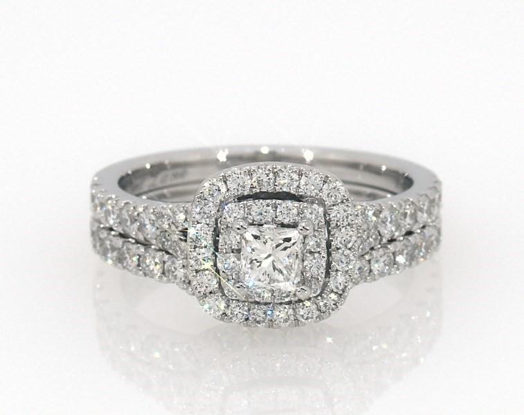 172f0723e Neil Lane Bridal Set 1-1/3 ct tw Diamonds 14K White Gold ...