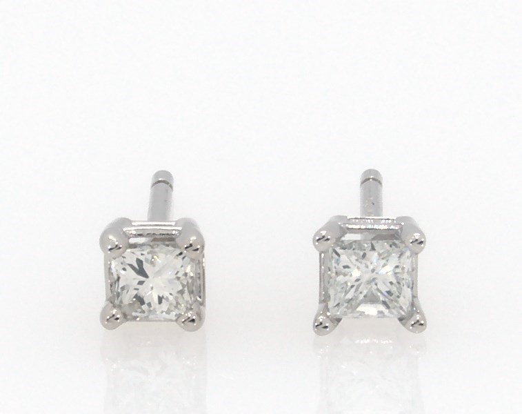 8e622758c Segoma 3D Image Player v5.1.21. Goto Segoma.com. Close. Large View. Diamond  Earrings 1/4 ct ...