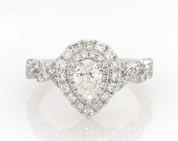 bb690e44de55c Neil Lane Engagement Ring 1-1/8 ct tw Diamonds 14K White Gold